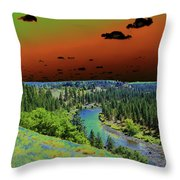 Early Morning Thoughts Throw Pillow