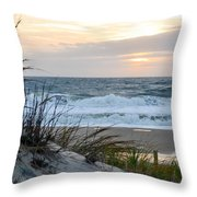 Early Morning View Throw Pillow