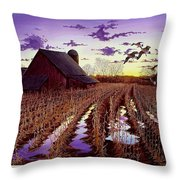 Early Return Throw Pillow