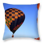 Early Riser Monument Valley Throw Pillow