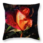 Early Rose Throw Pillow