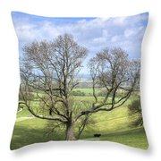 Early Spring On Steryning Bowl Throw Pillow