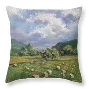 Early Summer Cutting Throw Pillow by Marlene Gremillion