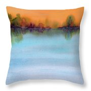 Early View Throw Pillow
