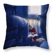 Early Will I Seek Thee Throw Pillow