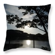 Earlymorning Throw Pillow