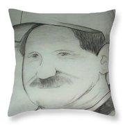 Earnhardt Sr Throw Pillow