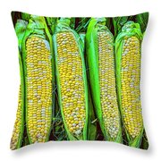 Ears Of Corn Throw Pillow