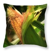 Ear's To You Corn Throw Pillow