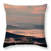 Earth And Sky. Throw Pillow