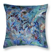Earth Art Throw Pillow