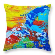 Earth, As Is 2 Throw Pillow