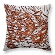 Earth Father - Tile Throw Pillow