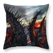 Earth Gives Back Throw Pillow
