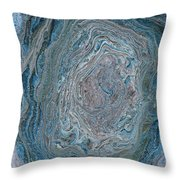 Earth Journey Throw Pillow