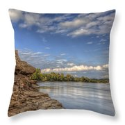 Earth, Sky And Water Throw Pillow
