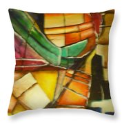 Earth Tones 1 Throw Pillow