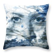 Earth Wind Water Throw Pillow by Christopher Beikmann
