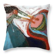 Eartha - Tile Throw Pillow
