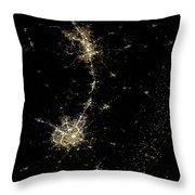 Earthbound Nebulae Throw Pillow
