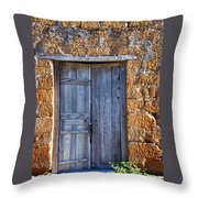 Earthen Colors Throw Pillow