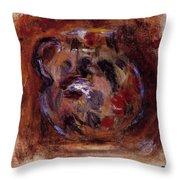 Earthenware Jug Throw Pillow