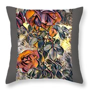 Earthly Bright Throw Pillow