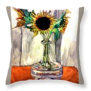 Earthly Limitations Throw Pillow