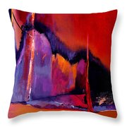 Earthquakes In Divers Places Throw Pillow