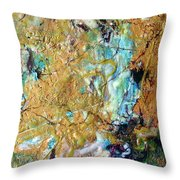Earth's Embrace Throw Pillow