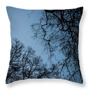 Earths Lungs Throw Pillow