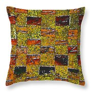 Earths Tapestry Throw Pillow