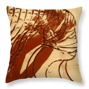 East - Tile Throw Pillow