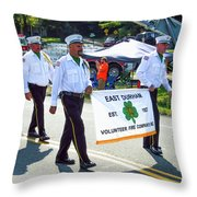 East Durham Volunteer Fire Company Inc 3 Throw Pillow