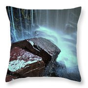 East Gill Force Throw Pillow