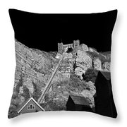 East Hill Cliff Railway - Hastings Throw Pillow