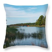 East Jordan 11 Throw Pillow