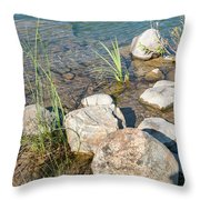 East Jordan 13 Throw Pillow