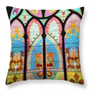 East Jordan 19 Throw Pillow
