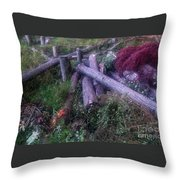 East Jordan 29 Throw Pillow