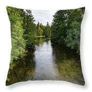 East Jordan 7 Throw Pillow