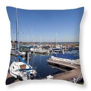 East Lake Toho In Florida Throw Pillow