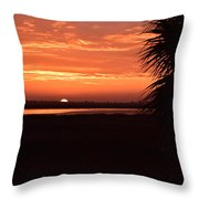 East Looking West Throw Pillow