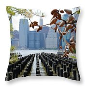 East River#2 Throw Pillow