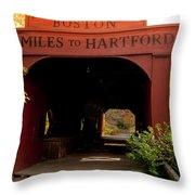 East Rock Throw Pillow