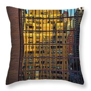 East Side Reflection Throw Pillow