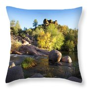 East Verde Revisited Throw Pillow