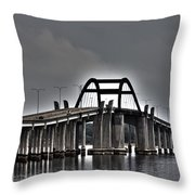 East-west Connection Throw Pillow