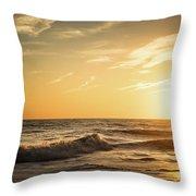 Eastcoast Sunset Throw Pillow