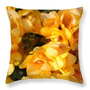 Easter Beauties Throw Pillow